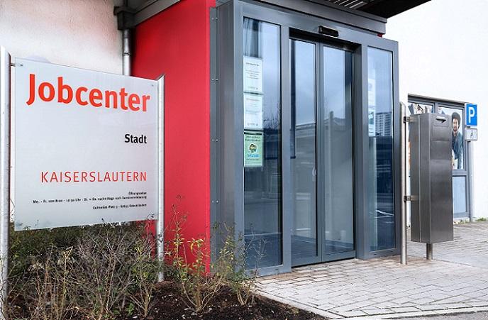 Tür Jobcenter